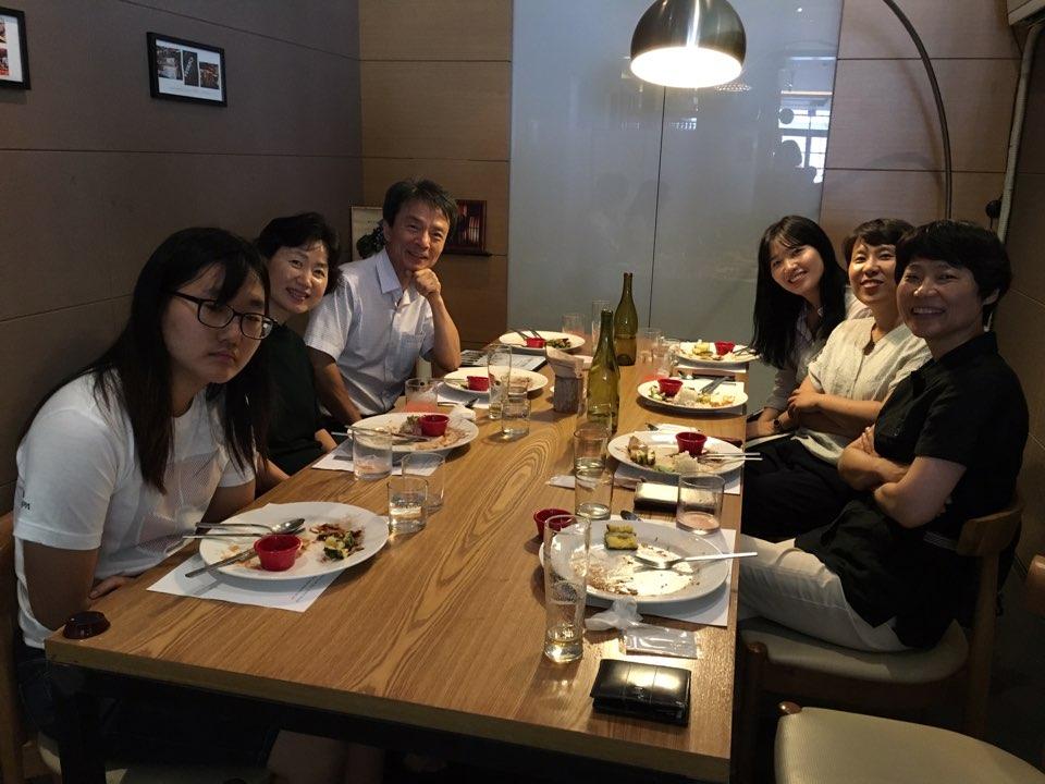 20160713 이기훈 회원 식사